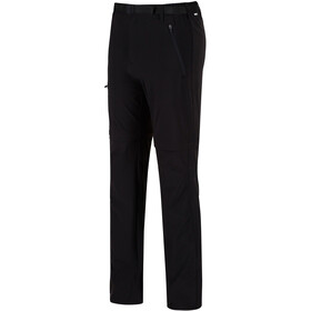 Regatta Xert II Stretch Zip of Trousers Regular Men, black